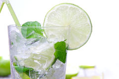 Fresh mojito cocktail Stock Images