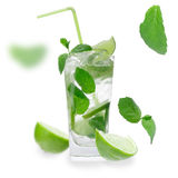 Fresh mojito cocktail Royalty Free Stock Photography