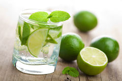 Fresh mojito cocktail Royalty Free Stock Image