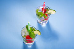 Fresh mojito cocktails Royalty Free Stock Images