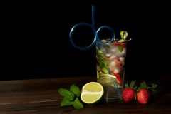 Fresh mojito drink Royalty Free Stock Image