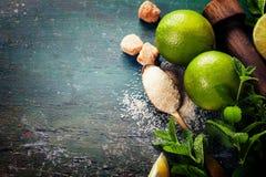 Fresh mojito drink Stock Photography