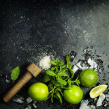 Fresh mojito drink Stock Images