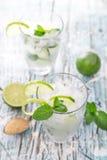 Fresh mojito drink Stock Photos
