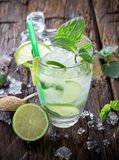 Fresh mojito drink Royalty Free Stock Photography