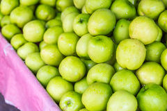 Fresh monkey apple in baskets. And selling in markets Stock Images