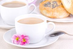 Fresh Morning Coffee Stock Photography