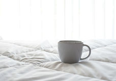 Fresh morning coffee royalty free stock images