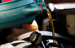 Fresh motor oil Royalty Free Stock Image