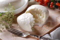 Fresh mozzarella Stock Image