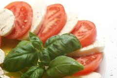 Fresh mozzarella Stock Photos