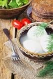 Fresh mozzarella cheese Stock Photos