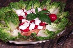 Fresh mozzarella Stock Photo