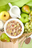 Fresh muesli Royalty Free Stock Images