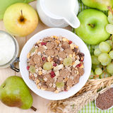 Fresh muesli Royalty Free Stock Photos