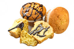 Fresh muffin Royalty Free Stock Images