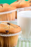 Fresh muffins Royalty Free Stock Photos
