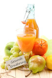 Fresh multivitamin juice Royalty Free Stock Photos