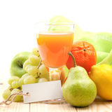 Fresh multivitamin juice Royalty Free Stock Image