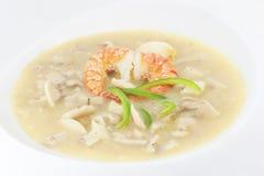 Fresh mushroom soup Royalty Free Stock Photography