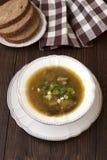 Fresh mushroom soup Royalty Free Stock Images