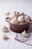 Fresh mushrooms Royalty Free Stock Photos