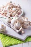 Fresh mushrooms Royalty Free Stock Images