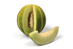 Fresh  muskmelon Stock Photos