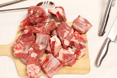 Fresh mutton Royalty Free Stock Images