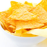 Fresh nachos Royalty Free Stock Photos