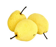 Fresh nashi pear Royalty Free Stock Images