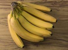 Fresh natural banana bunch royalty free stock images