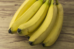 Fresh natural banana bunch stock images