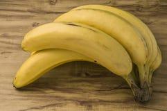 Fresh natural banana bunch stock image