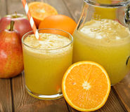Fresh natural fruit juice Stock Photo