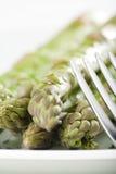 Fresh natural green asparagus Royalty Free Stock Photos