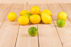 Fresh natural lemons Royalty Free Stock Photos