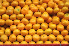Fresh Natural Oranges Royalty Free Stock Photography