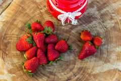 Fresh natural strawberry Royalty Free Stock Photography