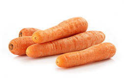 Fresh natural winter carrots Royalty Free Stock Photo