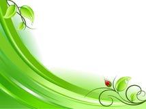 Fresh nature background stock illustration