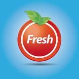 Fresh nature button Royalty Free Stock Photos