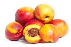 Fresh nectarine Stock Photo