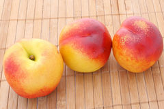 fresh nectarines Royalty Free Stock Image
