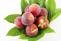 Fresh nectarines Stock Photos