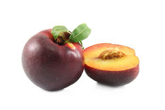 Fresh nectarines Stock Photos