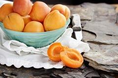 Fresh Nectarines Stock Photo