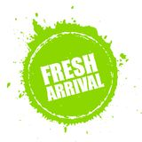 Fresh new arrival blot vector icon Stock Photos