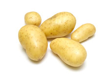 Fresh new potatoes Royalty Free Stock Photos