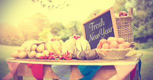 Fresh New Year Royalty Free Stock Photos